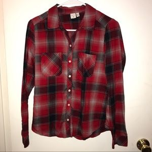 RED AND BLACK LIGHT WEIGHT FLANNEL - NORDSTORM✨